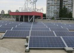 Condomínio com energia fotovoltaica